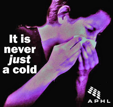 It is never just a cold | www.APHLblog.org