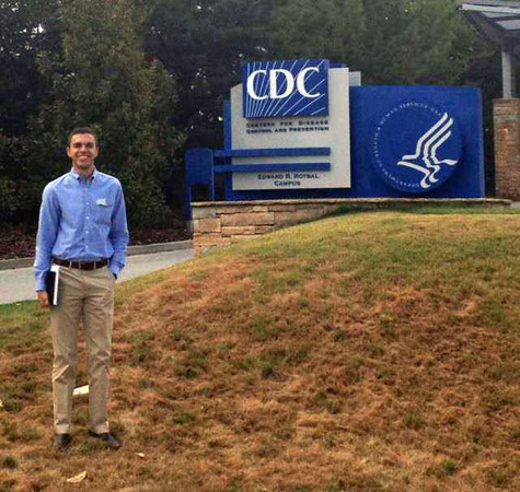 Chris Chadwick Visits CDC