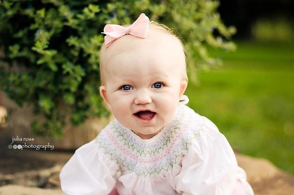 Baby Caroline -- 6 months